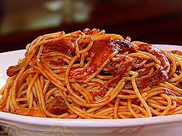 spaghetti, dinner, pasta, noodle, sauce